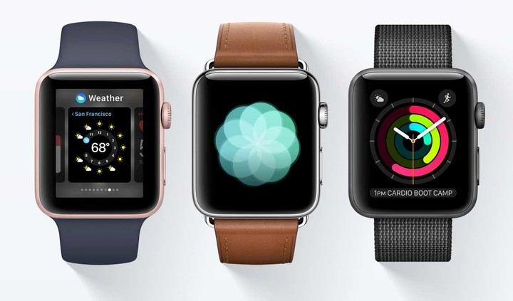 watchOS 3.0 is a big part of the Series 2 device.