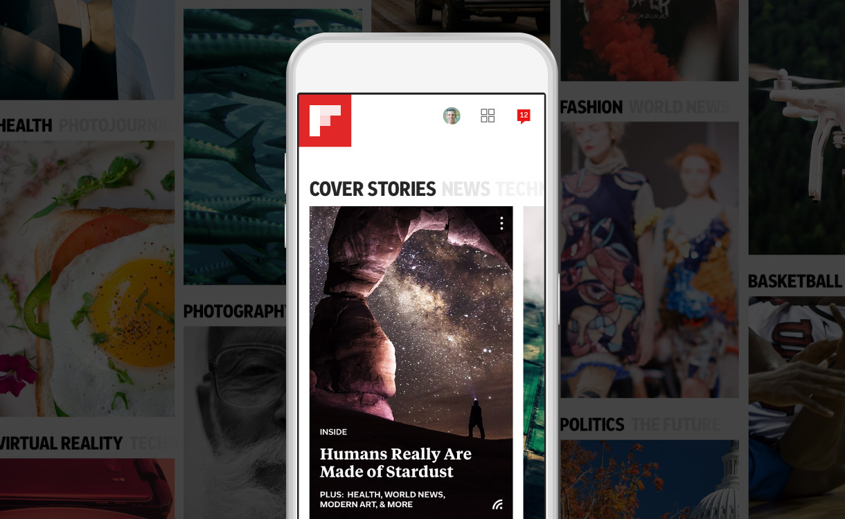 A New Flipboard Update Ushers in Personalized Smart Magazines