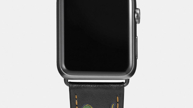 The Coach Apple Watch Band is Back with New Styles and 30 Percent Off