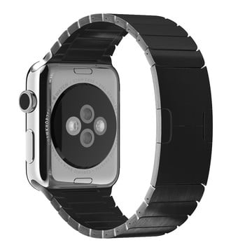 The Best Non-Apple Black The Best Replica Link Bracelets Apple Watch Band