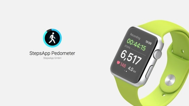 StepsApp Pedometer: the Best Apple Watch Step Counting App